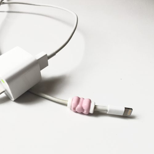 Cute Pink Bow Cable Protector