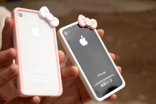 iphone case bumper bowknot