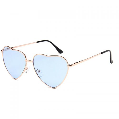 Heart Shaped Sunglasses blue