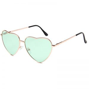 Heart Shaped Sunglasses mintgreen