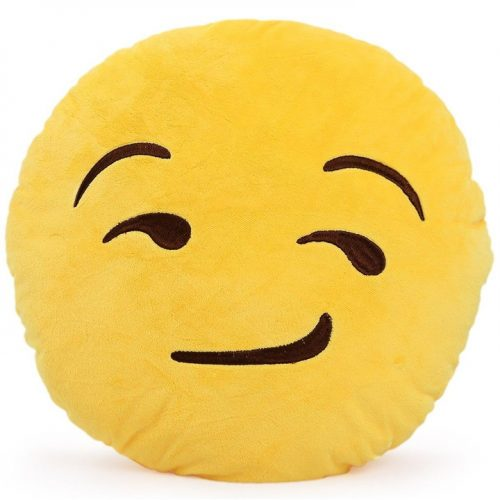 EMOJI STUFFED PLUSH PILLOW