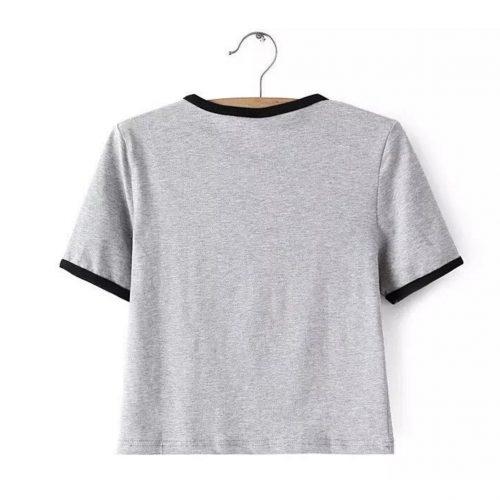 Alien T-shirt Grey