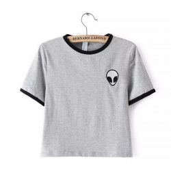 Alien T-shirt Grey