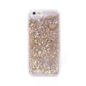 Glitter Stars Liquid Iphone Case 6/6s Gold