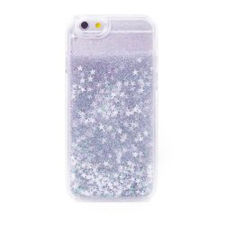 Glitter Stars Liquid Iphone Case 6/6s silver