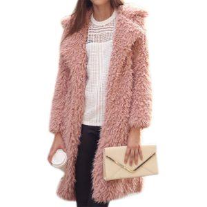 Furry Coat Pink
