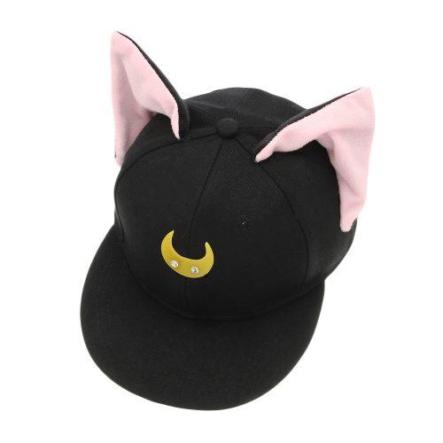 Sailor Moon Luna Hat Black