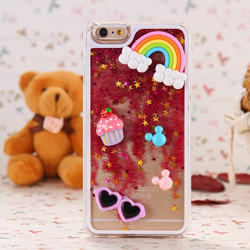 Kawaii 3D Iphone Case pink