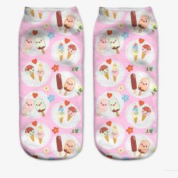 Kawaii Icecream Socks