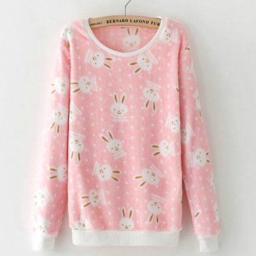 Bunny Fleece Sweatshirt