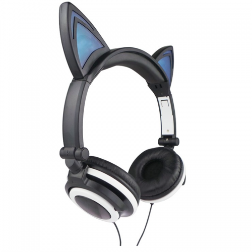 Cat Ear Headphones LED Light