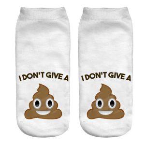 I don't Give a Poop Socks
