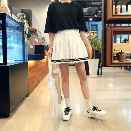 School Girl Pleated Skirt