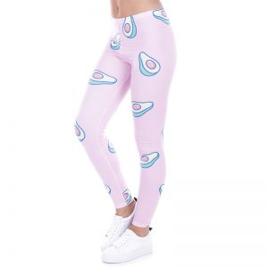 Avocado Leggings Pink