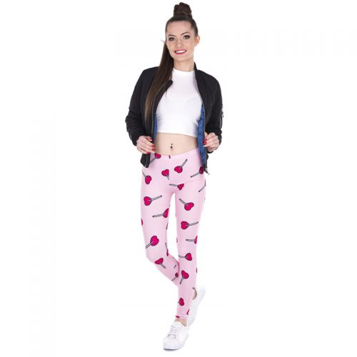 Heart Lollipop Leggings