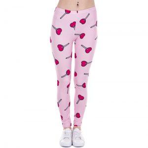 Heart Lollipop Leggings