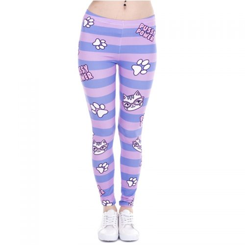 Pussy Power Cat Paw Leggings