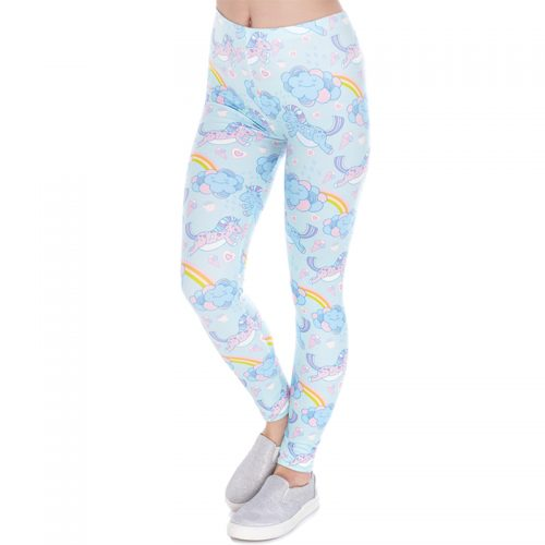 Unicorn Rainbow Cloud Leggings