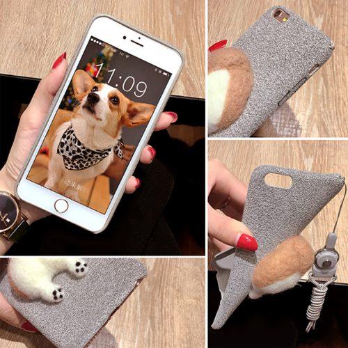Corgi Dog Butt iPhone Case