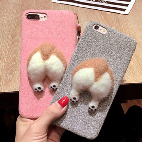 Corgi Butt iPhone Case