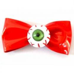 Eyeball Red Bow Hair Accessory