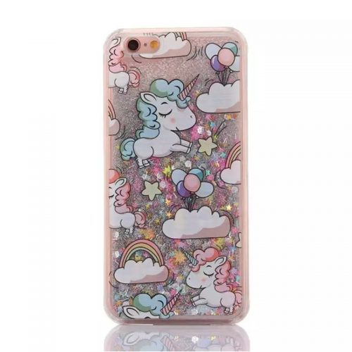 Unicorn Glitter iPhone Case 7