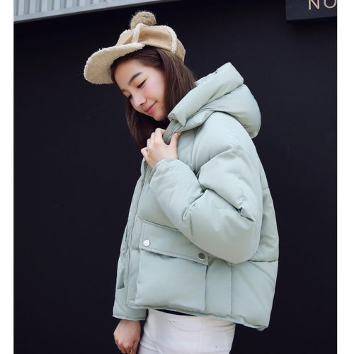 Winter Padded Jacket Mintgreen