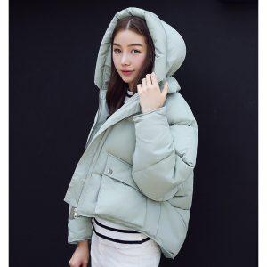 Winter Padded Jacket Mintgreen