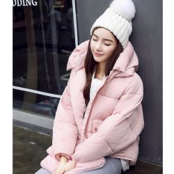 Winter Padded Jacket Pink 4
