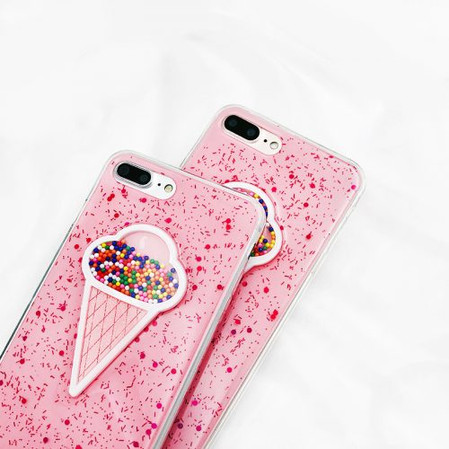 ice cream sprinkles iphone 7 case pink