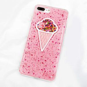 ice cream iphone 7 case pink