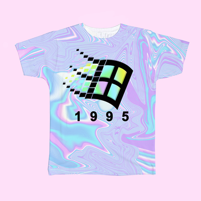 vaporwave aesthetic fashion