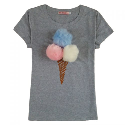 Fluffy Ball Ice Cream Shirt