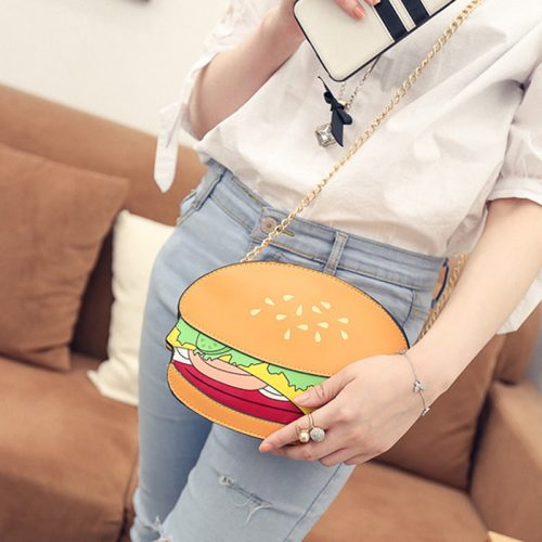 Hamburger Crossbody Bag Kawaii Fashion