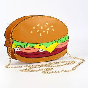 Hamburger Crossbody Bag