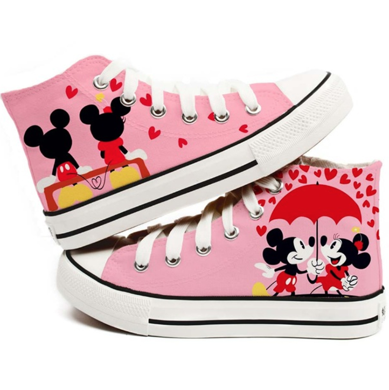 c93ee5cf84729b Mickey Mouse Canvas Shoes - SugarSweet.me