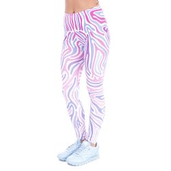 Purple Zebra Leggings