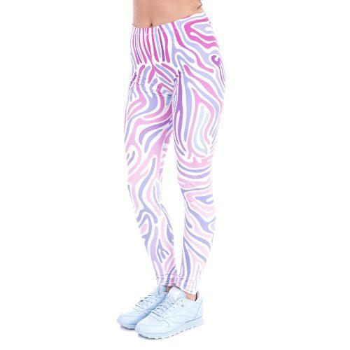 Purple Zebra Leggings