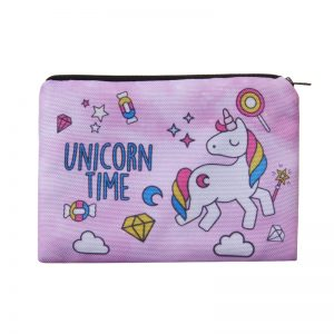 Unicorn Time Makeup Bag