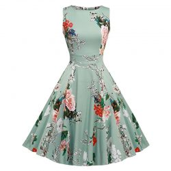 Fashion Nova Rockabilly Floral Dress