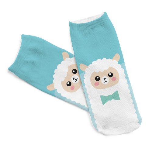 Kawaii Llama Socks