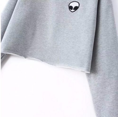Alien Tumblr Sweatshirt