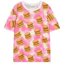 Burger Shirt Color Splash