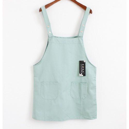Harajuku Overall Dress mintgreen
