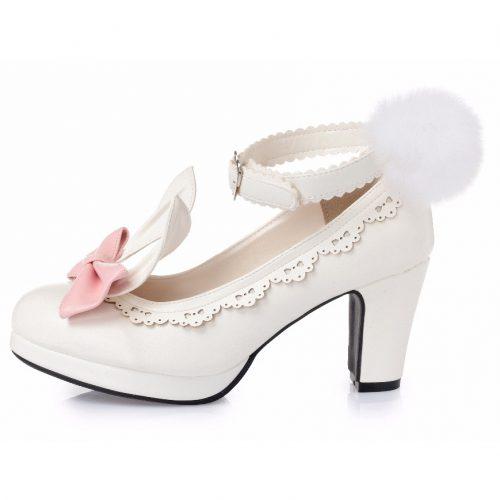 Lolita heels bunny rabbit