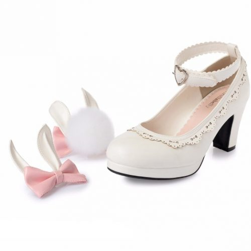 kawaii shoes bunny style
