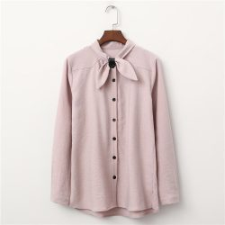 Bow Tie Shirt Pink