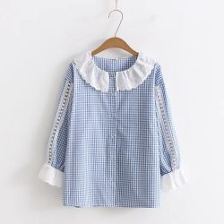 Lolita Blouse Lace Collar
