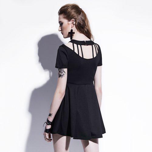 Gothic A-line dress