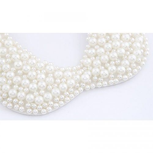 Pearl Collar Necklace peter pan